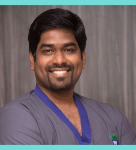 Dr. Karthikeyan – BDS, MDS – Oral & Maxillofacial Surgeon