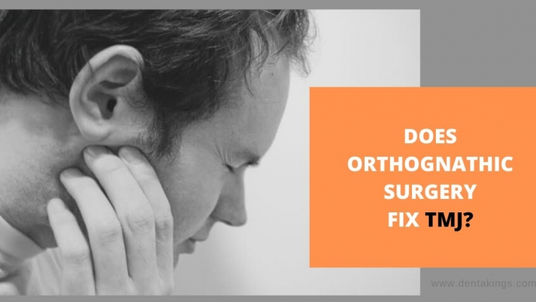 Does Orthognathic Surgery fix TMJ problem?