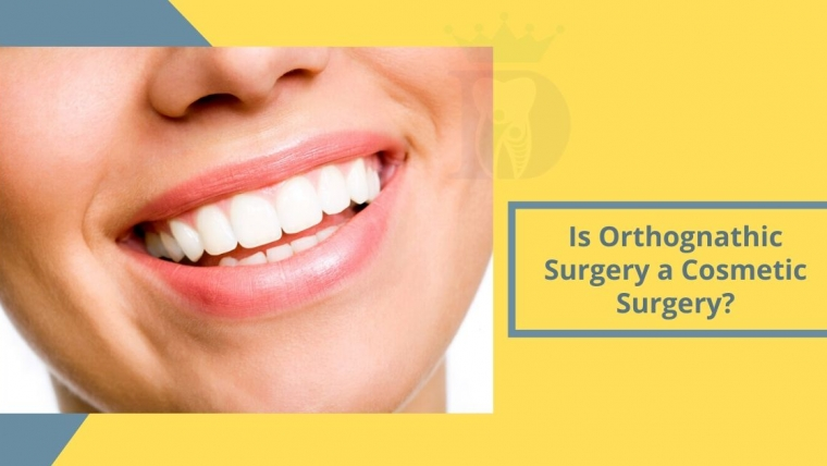 Is Orthognathic surgery a Cosmetic surgery?